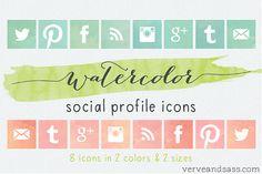 Copy Paste Love: Adventskalender Tür #16 | Free Social Icons #2