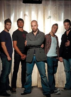 Daughtry...absolutely love his voice.  I can honestly say that I like almost every song that I have heard him sing.