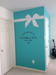 Room Decor For Teen Girls Dream Bedrooms Tiffany Blue 42 Ideas For 2019 Bleu Tiffany, Tiffany Blue Bedroom, Blue Bedroom Decor, Tiffany And Co, Bedroom Colors, Tiffany Blue Walls, Tiffany Box, Dream Bedroom, Girls Bedroom