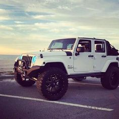 White jeep wrangler unlimited                                                                                                                                                                                 More #ad