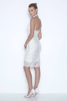 'Mia Twist' Dress. Only available from our Sydney Flagship Boutique. Email strand@loverthelabel.com