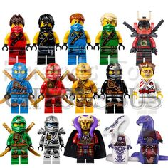 15pcs/Lot NINJAGO Minifigures Cole Kai Jay Lloyd Nya Skylor Zane Pythor Chen Building Blocks Figures Toys Compatible With Lego-in Blocks from Toys & Hobbies on Aliexpress.com | Alibaba Group