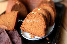 Just Try & Taste: Resep Bolu Rampah Khas Makassar Bread Recipes, Cake Recipes, Cooking Cake, Makassar, Cake Cookies, Banana Bread, Food And Drink, Menu, Snacks