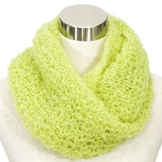 OHJE: Mohairhuivi Knitting Patterns Free, Hand Knitting, Free Pattern, Tube Scarf, Mohair Yarn, Circular Knitting Needles, Time Shop, Fashion Bags, Sewing Crafts