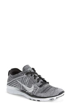 Want these in the Crimson ORANGE soooo badly!!   Nike 'Free Flyknit 5.0 TR' Training Shoe (Women) available at #Nordstrom