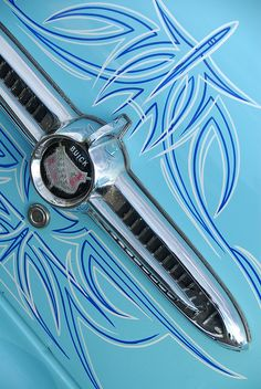 Classic Car: Pinstriping Wintersun 2009 by KDFKID. The only acceptable tramp stamp. Buick, Badges, Pinstriping Designs, Car Pinstriping, Pinstripe Art, Paint Stripes, Car Painting, Sign Painting, Kustom Kulture