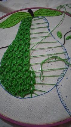 Three dimensional weaving embr
