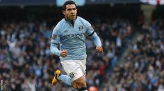 Manchester City striker Carlos Tevez :-)