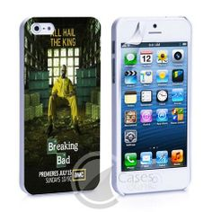 Breaking Bad King iPhone 4, 4S, 5, 5C, 5S Samsung Galaxy S2, S3, S4 Ca – iCasesStore