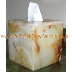 I would like to have something similar to this honey butter yellow accented onyx stone tissue holder for my future home master bedroom bathroom.
