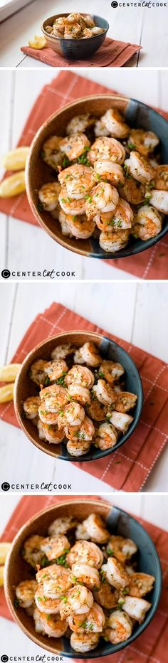 Cooking SHRIMP doesn't get any easier or tastier than this super quick PARMESAN-ROASTED Shrimp recipe.