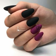 65 Winter Nail Designs for Christmas – – Related posts: Winter nails Christmas nails. Fun designs for manicures Winter Nail Designs: … Nagellack Design, Nagellack Trends, Matte Nail Art, Cute Acrylic Nails, Matte Gel Nails, Nail Polishes, Winter Nail Designs, Cute Nail Designs, Black Nail Designs