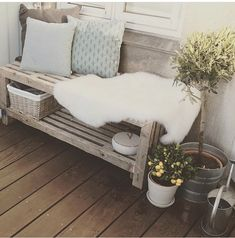 Lounge, Couch, Blanket, Inspiration, Furniture, Home Decor, Garden, Balcony, Airport Lounge