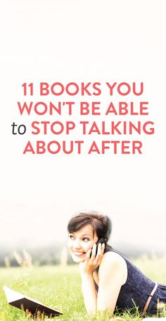 11 books you won't be able to stop talking about after