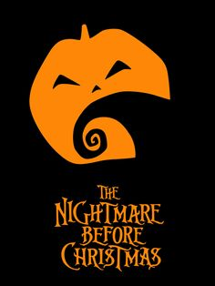 The Geeky Nerfherder: Movie Poster Art: The Nightmare Before Christmas (1993)