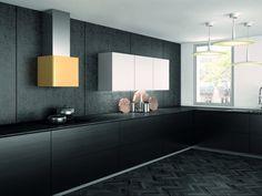 Design wand afzuigkap, in verschillende designkleuren verkrijgbaar.  Dit model wordt exclusief door aXiair geïmporteerd en geleverd onder het Faber label.