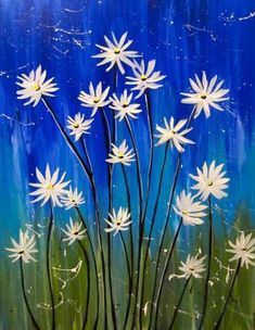 Spring Painting, Diy Painting, Painting & Drawing, Watercolor Paintings, Painting Classes, Wine And Canvas, Paint And Sip, Learn To Paint, Art Plastique