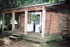 Cottage At Melrose Plantation on the Cane River in Louisiana.