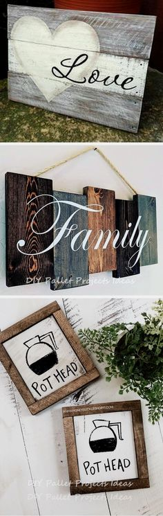 Decorating your house shouldn't be expensive nowadays. Let us teach you how you can use pallets to decorate your home. Pallet Crafts, Pallet Art, Diy Pallet Projects, Wooden Crafts, Diy Projects To Try, Crafts To Make, Fun Crafts, Craft Projects, Craft Ideas