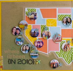 Great idea, too bad I have not traveled in more than 3 states:(( maybe I should start traveling so I have a reason to lift this page;) oh honey, grab the atlas we need to talk..........there is this layout that I love and to make it we need to take a few trips across the country......I see this happening don't you;)