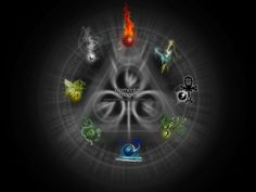 An elemental magic wallpaper featuring 8 elements! Sorry, only available in 1024x768 This took a surprisingly short time to do (by my standards that is ). Elements clockwise from the top: Fire, Lig...