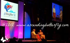 From Left to Right: Martha Stewart (left), BlogHer Conference Co-Founder Elisa Camahort Page (right)