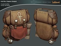 GW 2 Engineer's Backpack by ~haikai13 on deviantART