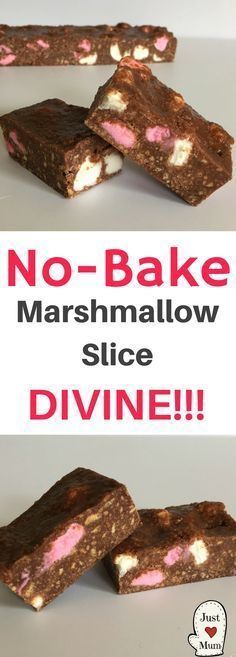 This is not your ordinary Marshmallow Slice - but it still holds its place as one of my all time favourite slices! This no bake marshmallow slice is like none other. This recipe has featured Baking Recipes, Cake Recipes, Dessert Recipes, No Bake Recipes, Kiwi Recipes, Nutella Recipes, Fudge Recipes, Baking Ideas, Chocolate Recipes