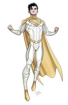 Superhero Characters, Dc Comics Characters, Dc Comics Art, Comic Books Art, Comic Art, Solgaleo Pokemon, Comic Style Art, Hq Dc, Superman Art
