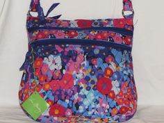 Vera+Bradley+IMPRESSIONISTA+Triple+Zip+Hipster+New+With+Tags+FREE+SHIPPING+#VeraBradley+#TripleZipHipster