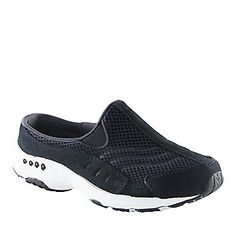 Pack light on your next trip with the Traveltime clog from Easy Spirit. Available in widths Narrow thru Extra Wide! A great option for problem feet and toes. Comfort shoes never looked so good!