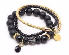 Wristbands & Bracelets – Set bracelets Z / 17 – a unique product by Blackif on DaWanda