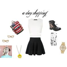 shopping!! by calumkitty123 on Polyvore