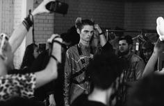 Backstage at LCM: Katie Eary AW14 by Cecilie Harris  for Boys by Girls.