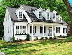 Image Result For White Brick Ranch House Exterior Houses Dream Black Shutters