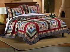 Colorado Lodge- Quilt Set  GREENLAND HOME FASHIONS