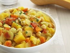 Moroccan-style vegetable stew