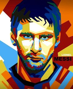 The Greasted footballer ever. LIONEL MESSI