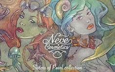 NEW: NEVE COSMETICS - SISTERS OF PEARL COLLECTION Amiche mie bentornate. Il 13 Aprile debutterà la nuova collezione di Neve Cosmetics la SISTER