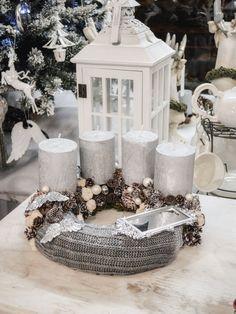 XMAS wreath / Christmas Candle Ring / Adventi koszorú
