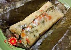 tamales de verduritas: Cocina Costarricense