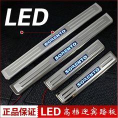 $46.99 (Buy here: https://alitems.com/g/1e8d114494ebda23ff8b16525dc3e8/?i=5&ulp=https%3A%2F%2Fwww.aliexpress.com%2Fitem%2Ffree-shipping-LED-Stainless-Steel-Scuff-Plate-Door-Sill-car-accessories-for-KIA-Sorento-2006-2014%2F32590113219.html ) free shipping LED Stainless Steel Scuff Plate/Door Sill car accessories for KIA Sorento 2006-2014 for just $46.99