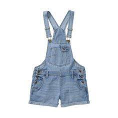 L.E.I. Juniors Short Overalls ($15) ❤ liked on Polyvore featuring jumpsuits, shorts, overalls, bottoms, overalls jumpsuit, jump suit, jumpsuit overalls, short overalls and bib overalls