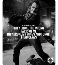 23 Joker quotes that will make you love him more 21 Trendy Tattoo Quotes Love Feelings Joker Heath, Heath Ledger Joker Quotes, Best Joker Quotes, Badass Quotes, Dark Quotes, Wise Quotes, Attitude Quotes, Inspirational Quotes, Joker Frases