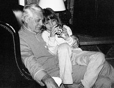 Cary Grant and daughter Jennifer