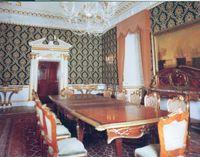 Mereworth Castle interior.