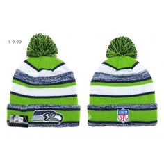 c4cd632410ce9 Wholesale Cheap NFL Knit Hats Seattle Seahawks Beanies Shop SSKH04 Pom Pom  Beanie Hat