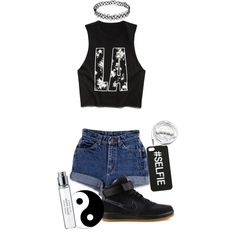 A fashion look from February 2015 featuring Forever 21 tops and NIKE sneakers. Browse and shop related looks.