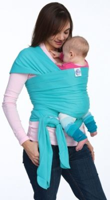 Moby Wrap. I like this color. Mine is in black because it matches everything I wear.