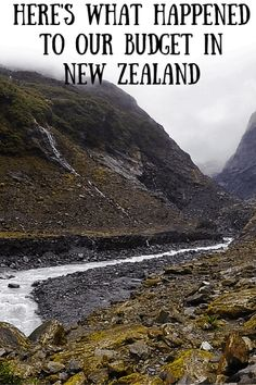 Here's what happened to our budget in New Zealand - A Broken Backpack